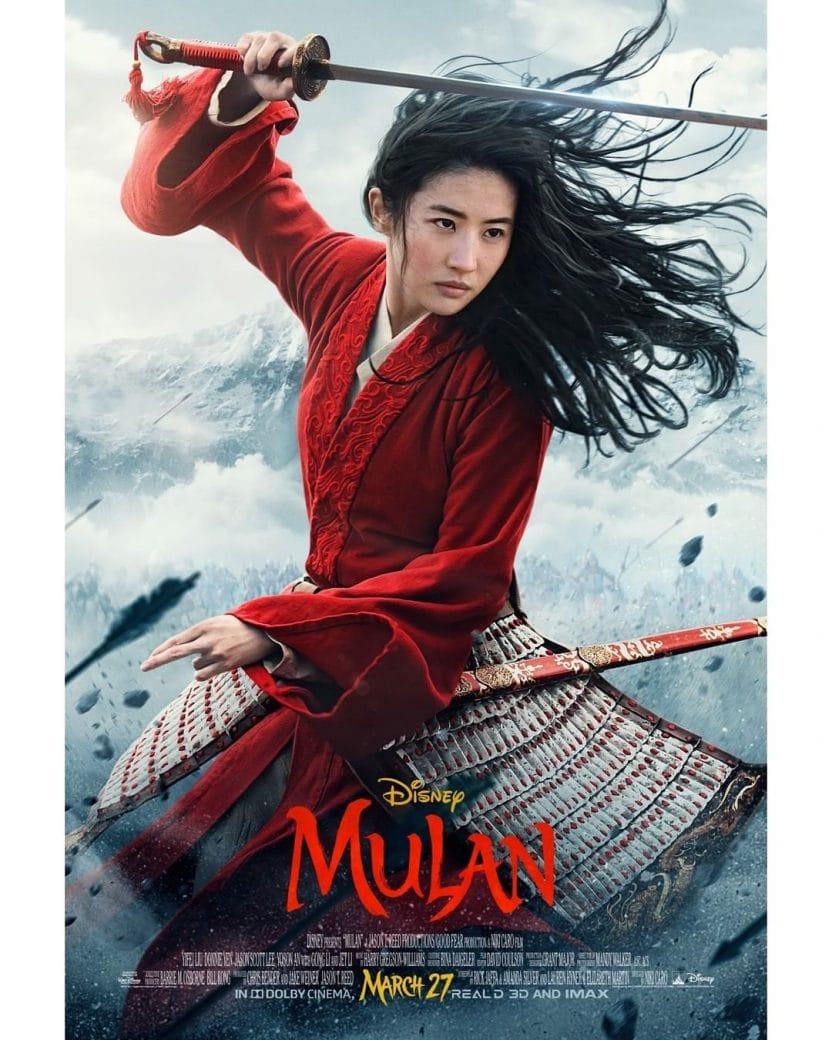 Mulan cast 2020