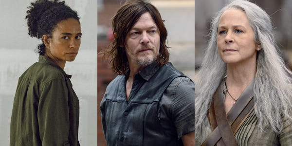 Daryl Has Never Been In A Relationship On The Walking Dead. Checkout Reason Behind It. - Trending News Buzz