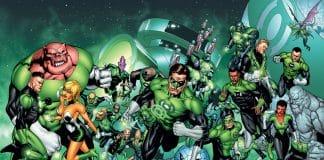 The Entire Green Lantern Corps: Taken Up By Batman !!