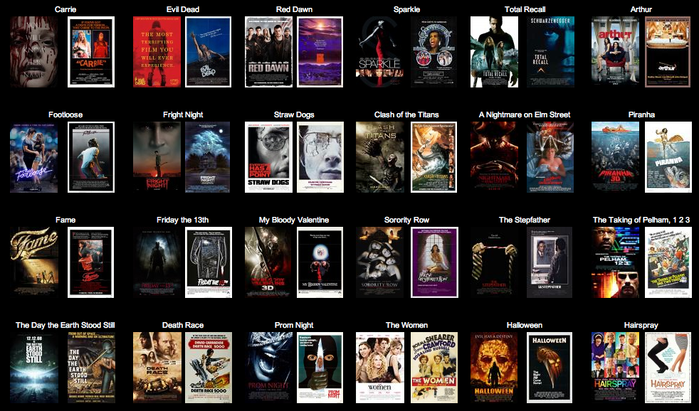 Remade Movies Of All Time!