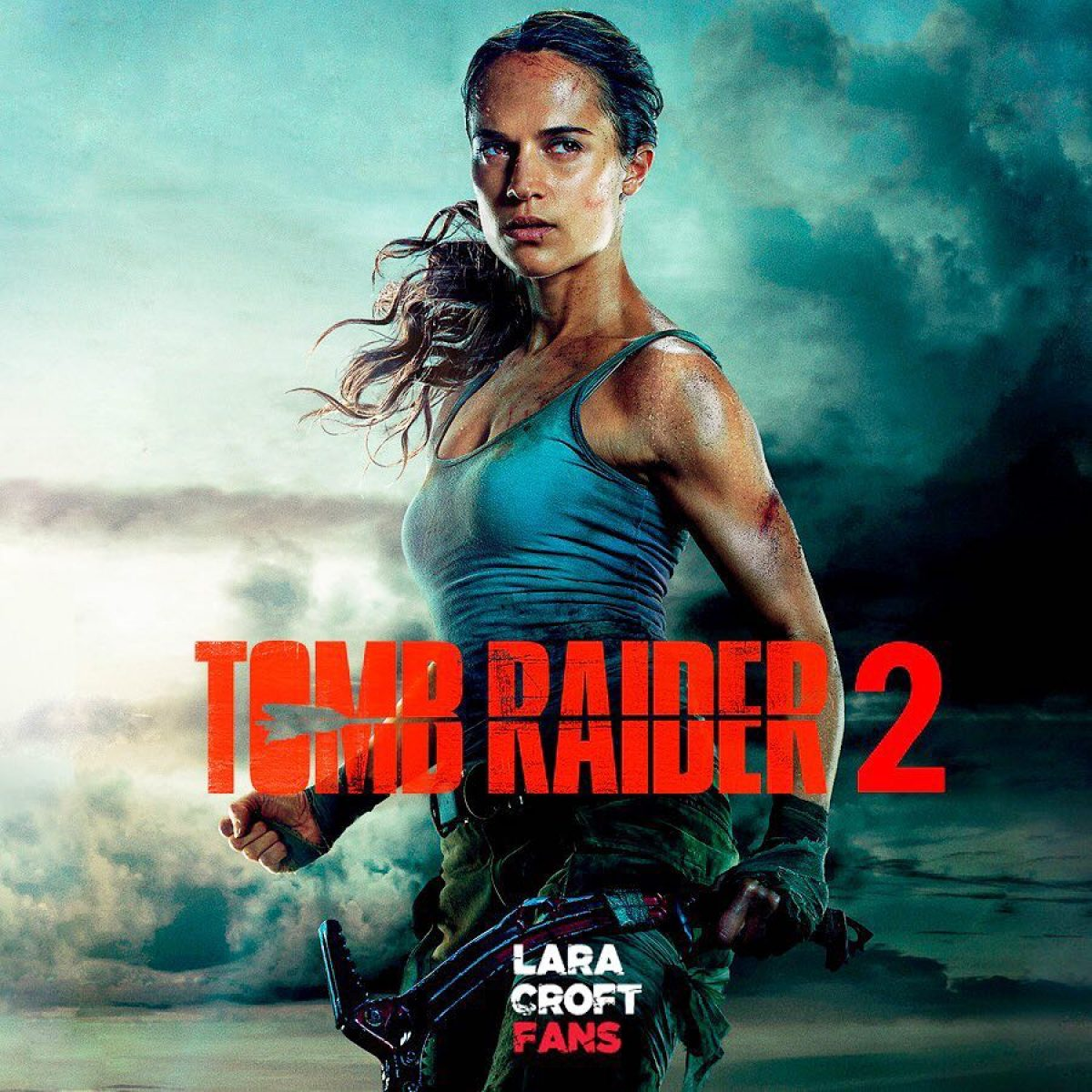 Tomb Raider 2 (2021) | Alicia Vikander