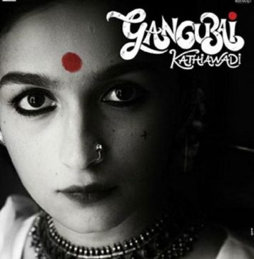 The Savage First Look of Alia Bhatt as Gangubai Kathiawadi