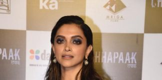 A Glamorous Deepika In A Sequined Sabyasachi For Chhapaak Promotions