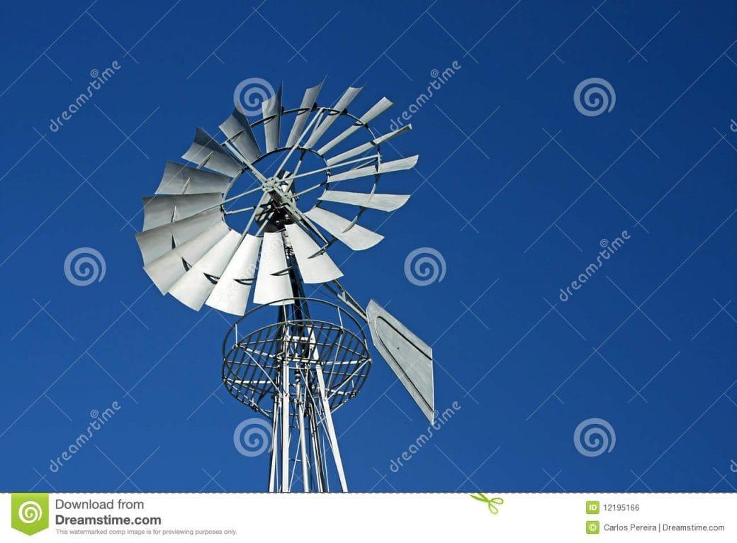 Metallic Windmill