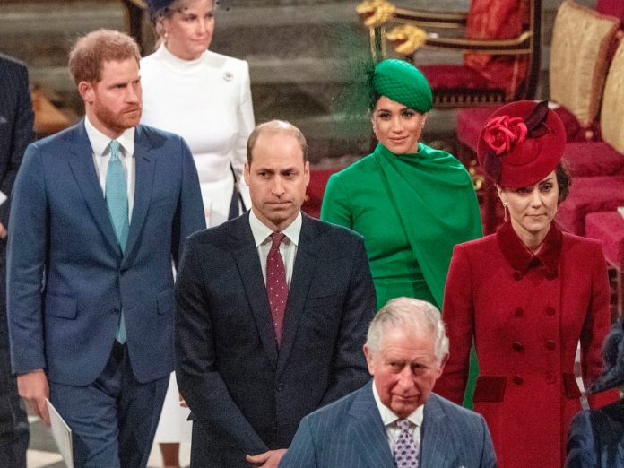 Meghan Markle and Prince Harry Join Queen Elizabeth For Church