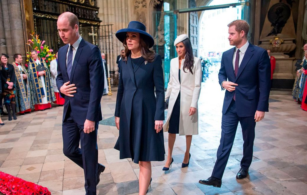 The Royals : The Fab Four Will Be Seen Again For The Commonwealth Day