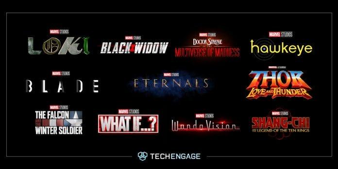 Marvel Phase 4 Filme