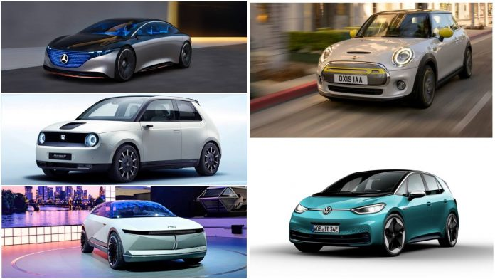 Top 5 New Electric Vehicles