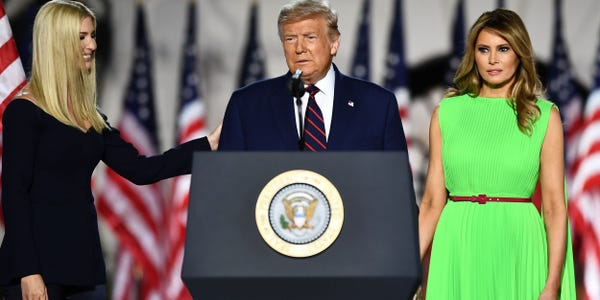 Cold War: Tension Between Ivanka Trump And Melania Trump