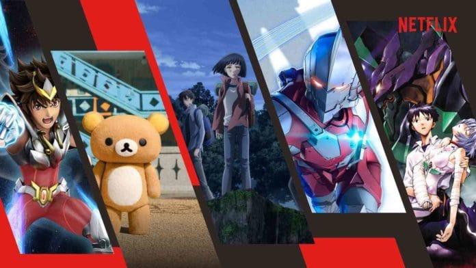Netflix Anime Site
