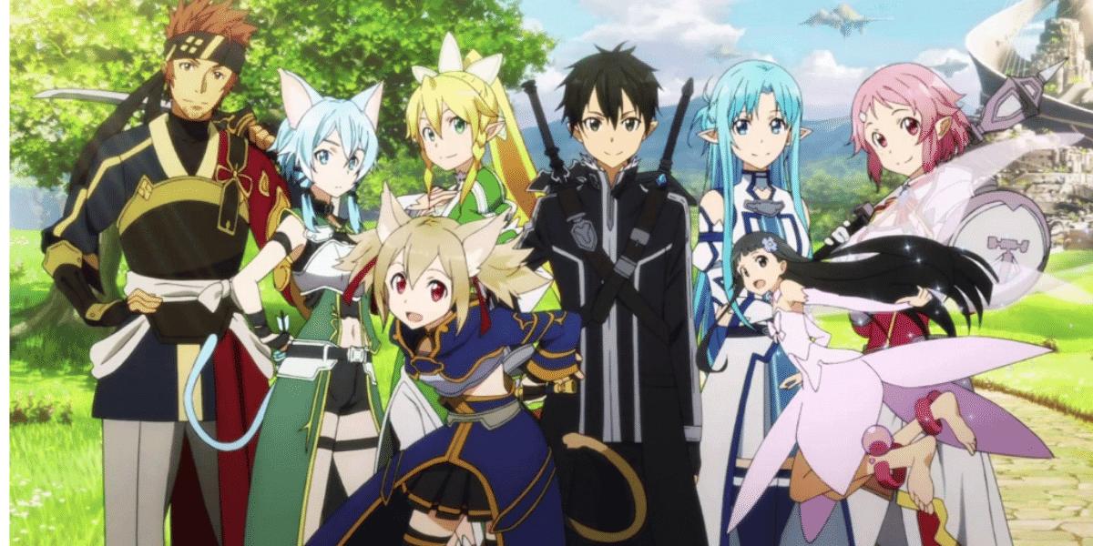 SAO season 4 all major characters poster.