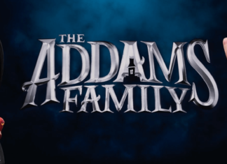 the official poster of addams family 2