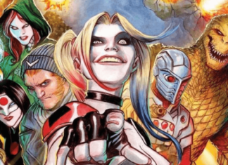 the poster of dc's suicide squad 2
