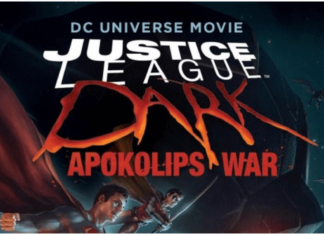 the official poster of justice league dark: apokolips war