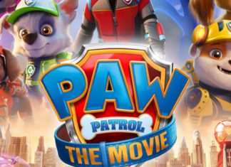 official poster of paw patrol: the movie