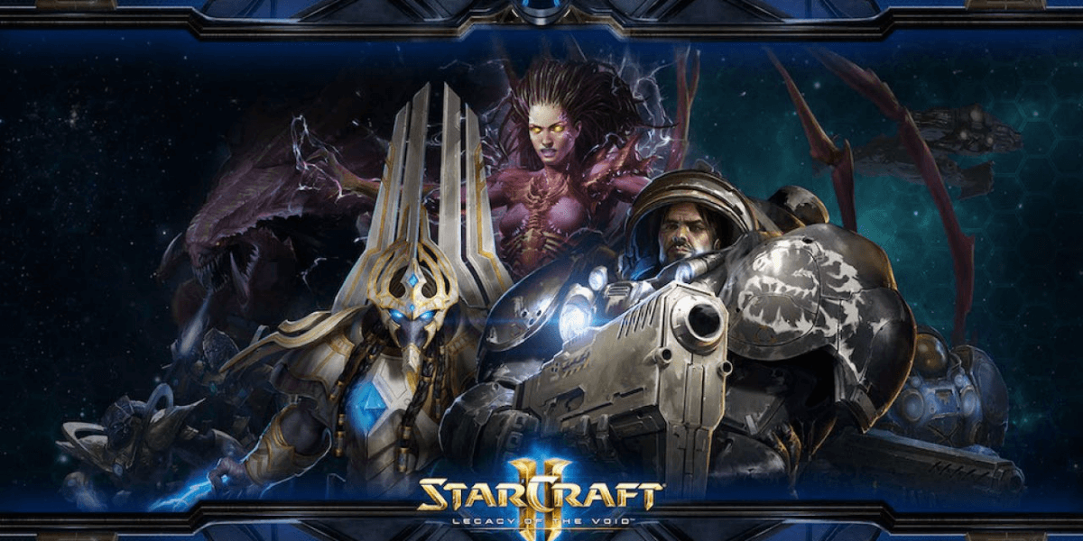 the characters of the game starcraft