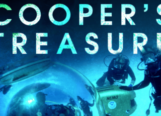 the official poster of cooper's treasure