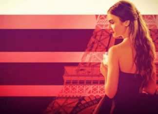 the official poster of emily in paris season 2