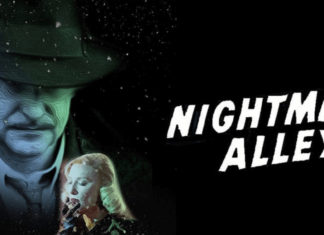the official poster of nightmare alley 2021