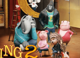the official poster of sing 2