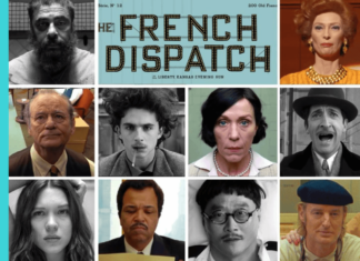 the official poster of the french dispatch
