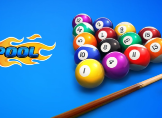 the official poster of 8 Ball Pool Hack