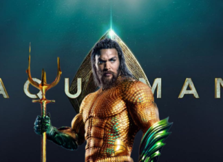 the official poster of Aquaman 2