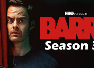 the official poster of Barry Season 3