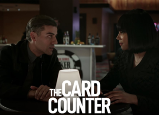 the official poster of Card Counter