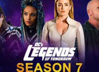 the official poster of DC'S Legends of Tomorrow Season 7