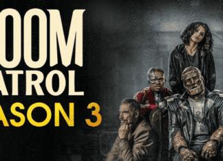 the official poster of doom patrol season 3