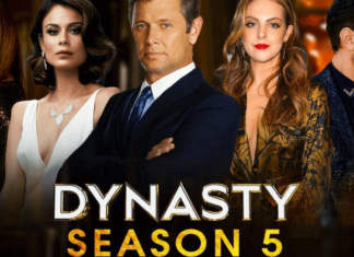 the official poster of dynasty season 5
