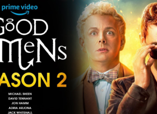 the official poster of Good Omens: Season 2