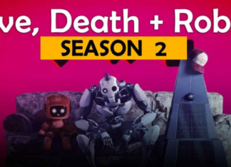 the official poster of love death robots season 2