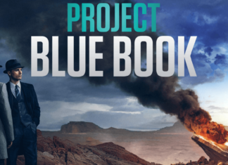 the official poster of project blue book