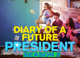 the official oster of The Diary of a Future President Season 2
