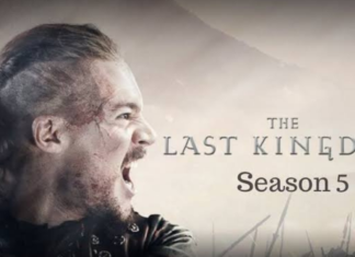 the official poster of the last kingdom season 5