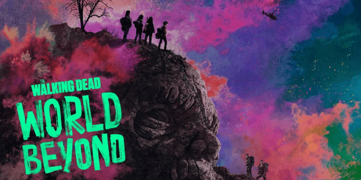 the official poster of the walking dead: world beyond season 2