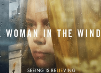 the official poster of The Woman in the Window