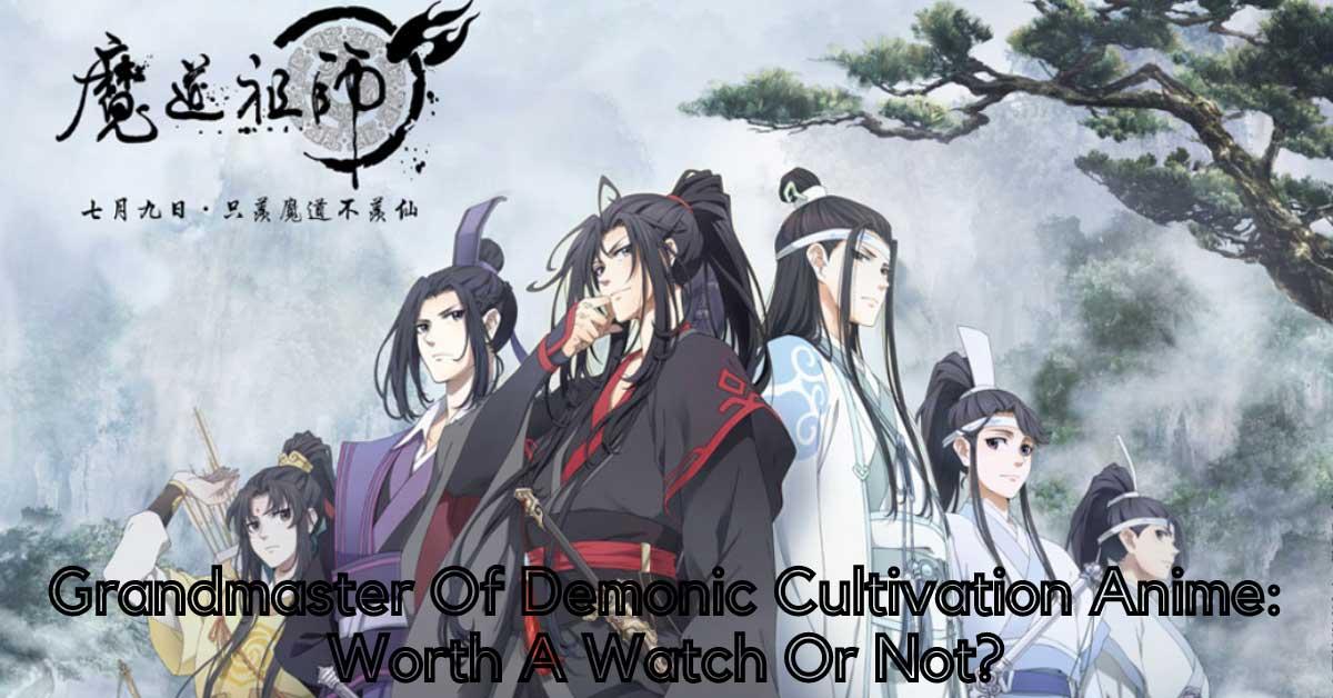 Grandmaster Of Demonic Cultivation Anime